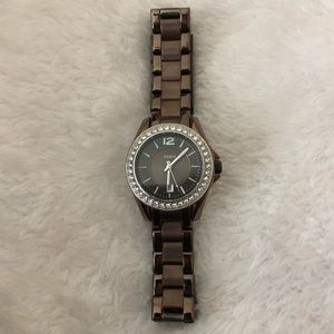 Bronze Colored Fossil Watch